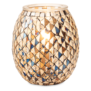 Time To Reflect Gold Scentsy Wamer