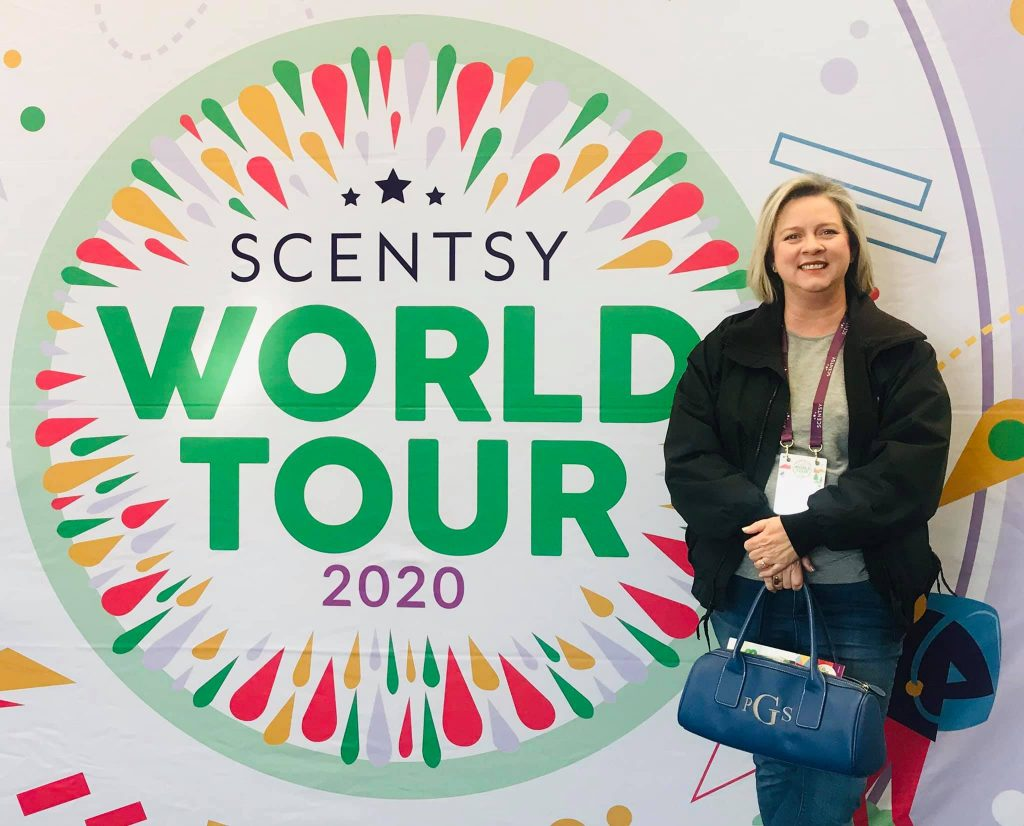 Phyllis Gray at Scentsy Conference 2020