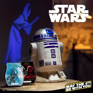 Scentsy r2d2