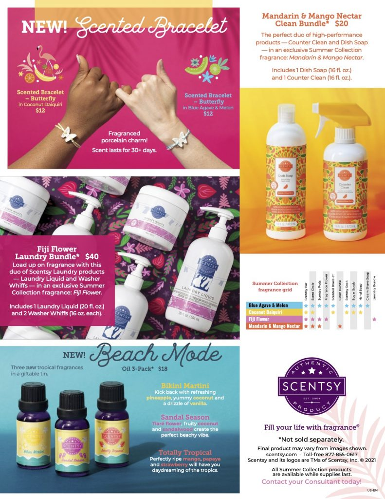 2021 Scentsy Summer