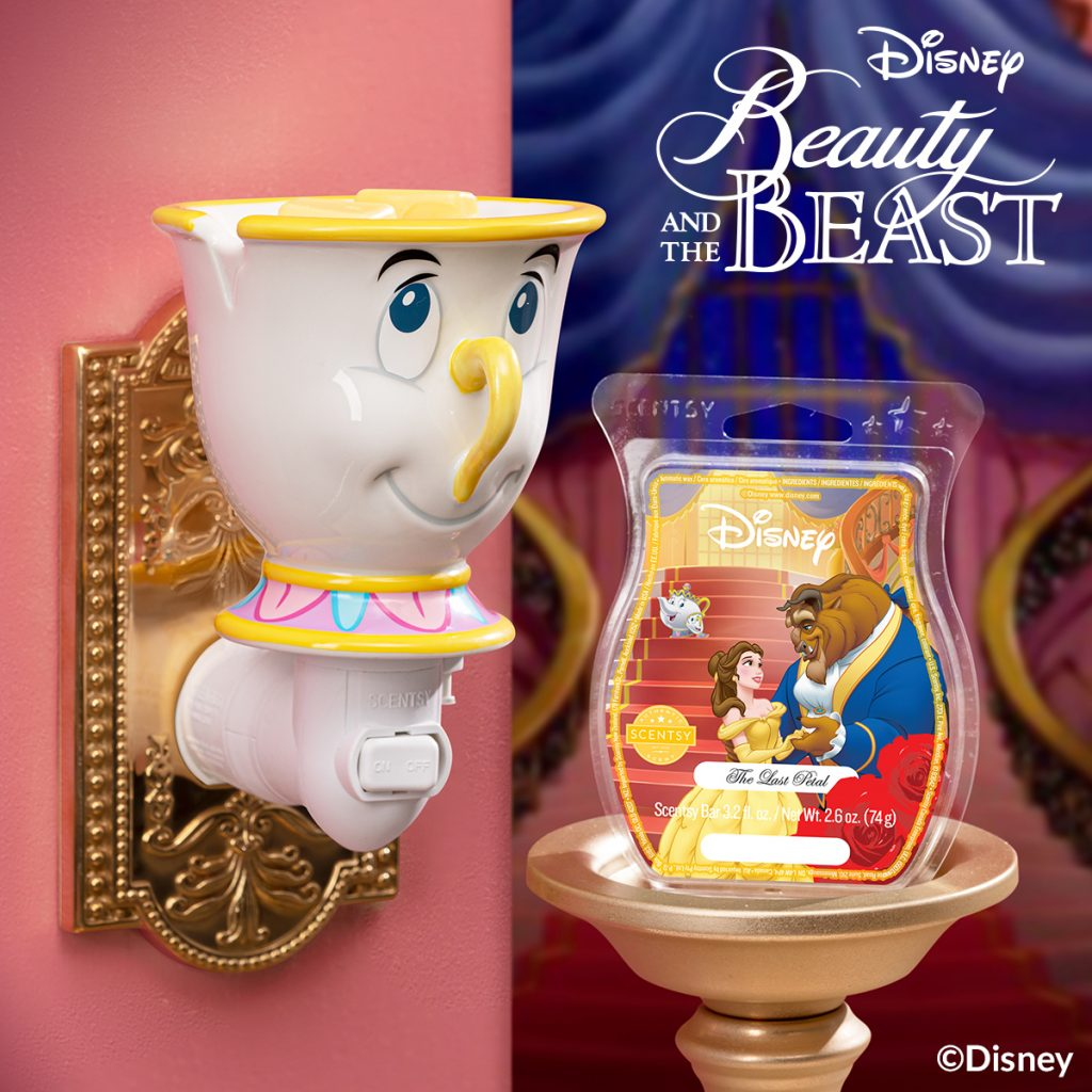Scentsy Beauty and the Beast Chip burner
