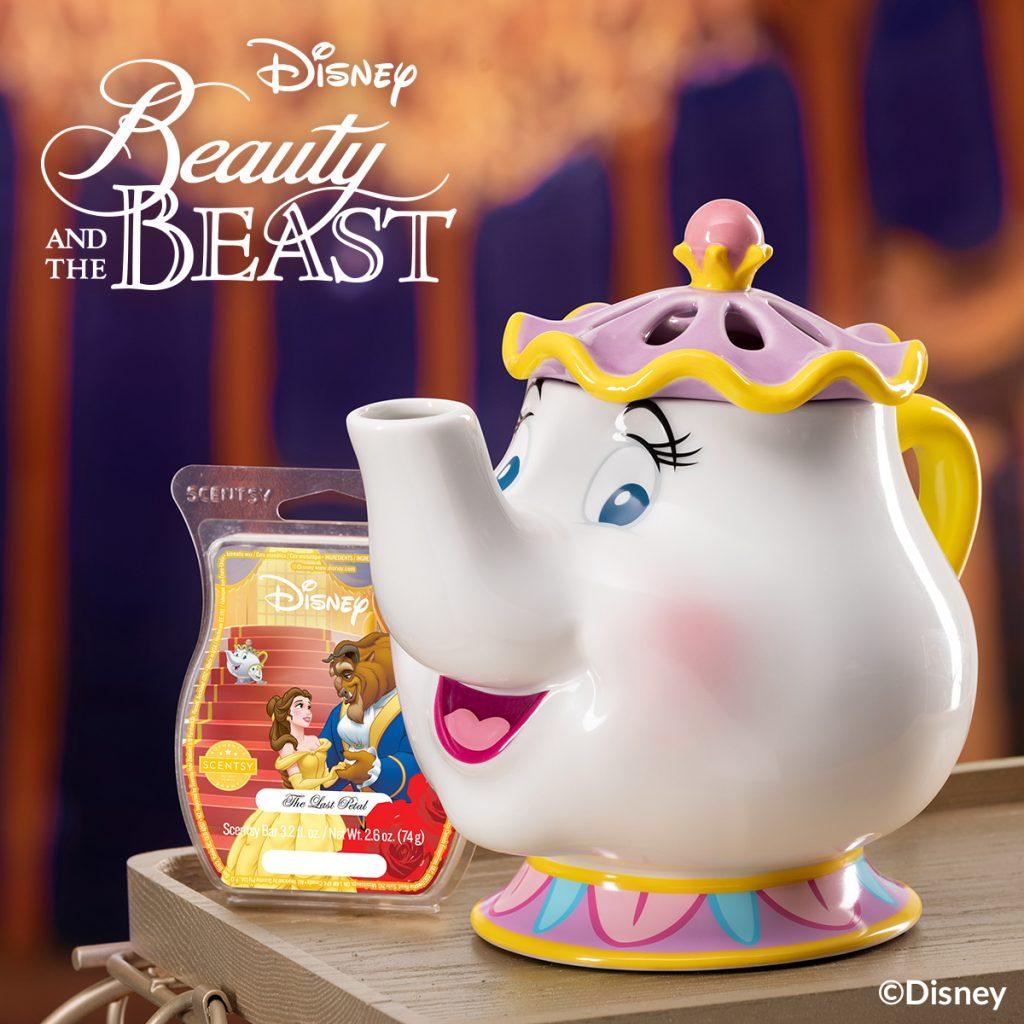 Scentsy Beauty and The Beast Mrs. Potts Burner