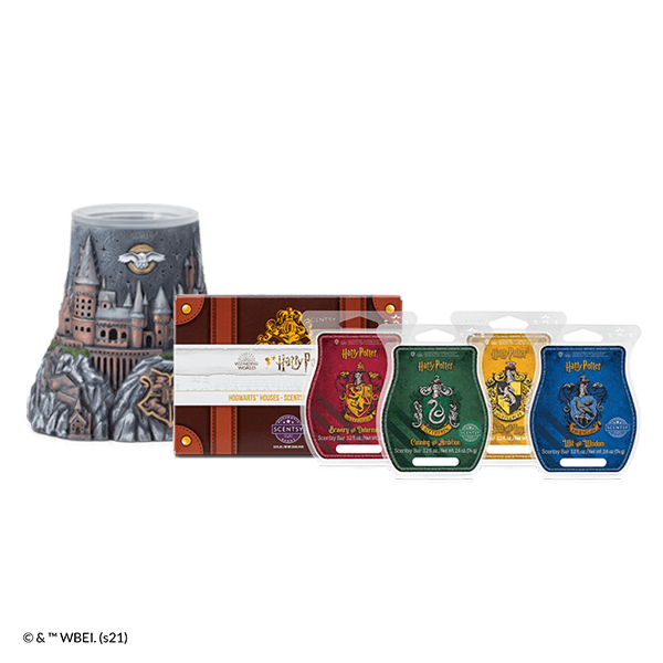 Scentsy Harry Potter warmer Hogwarts Wax Collection Bundle