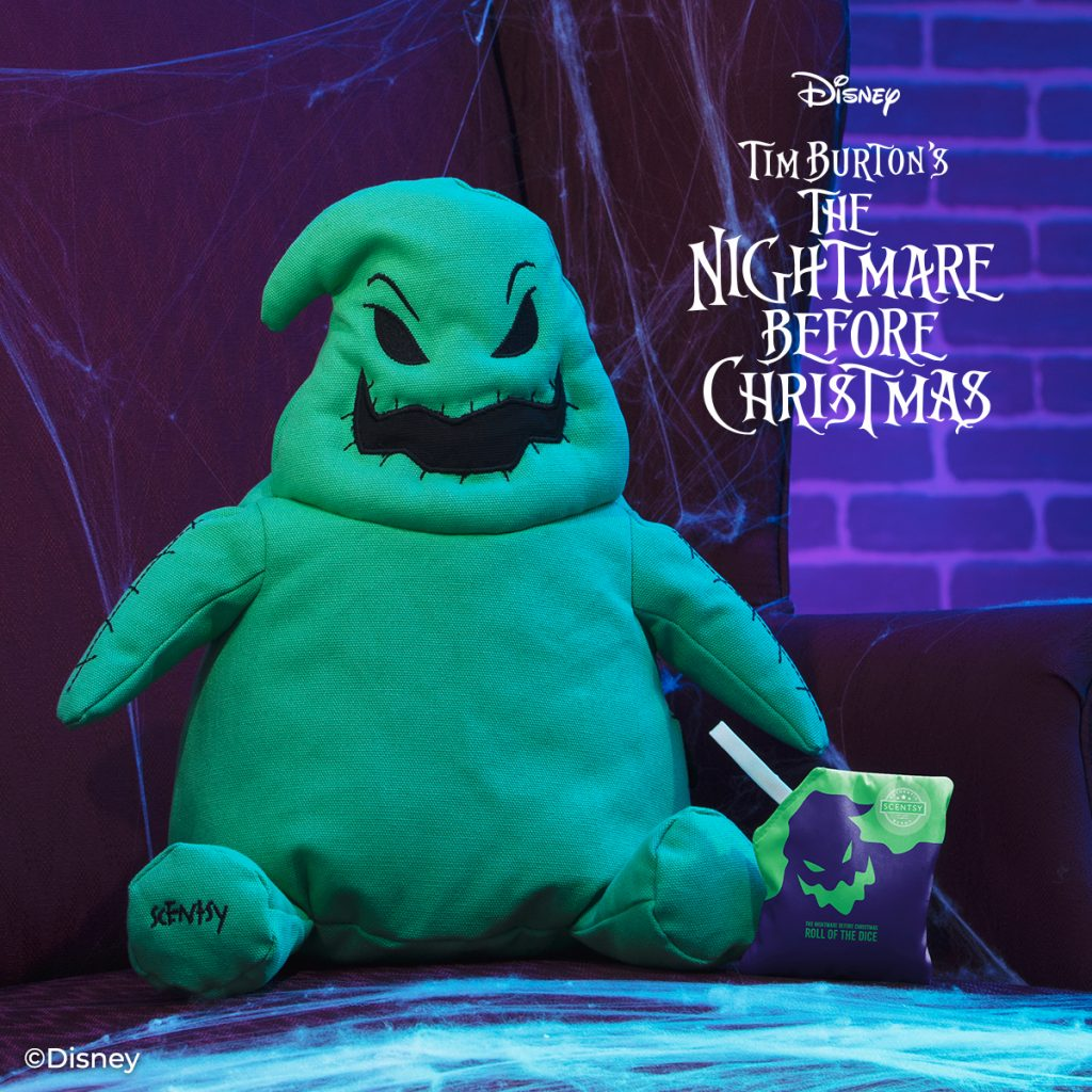 Oogie Boogie Scentsy Buddy - Nightmare Before Christmas