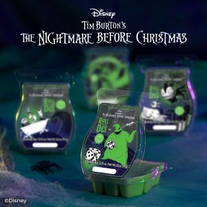 Oogie Boogie Roll The Dice Scentsy Wax Melt