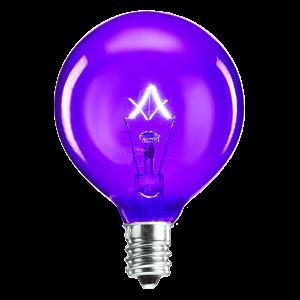 Scentsy Bulb 25 Watt Purple