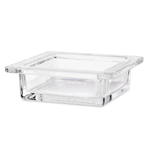 Scentsy Square Glass Dish With Logo