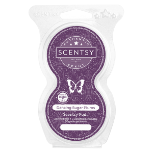 Scentsy Dancing Sugar Plums Pod Twin Pack