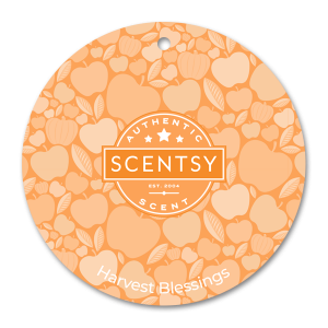 Scentsy Harvest Blessings Car Circle Air Freshener