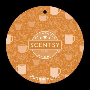 Scentsy Pumpkin Chai Car Air Freshener