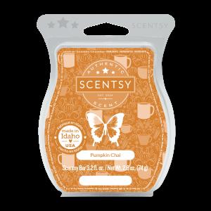 Scentsy Pumpkin Chai Wax Melt Bar