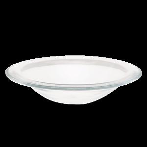 Scentsy Small Glass Curve Dish