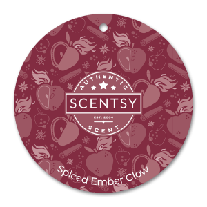 Scentsy Spiced Berry Car Circle Air Freshener