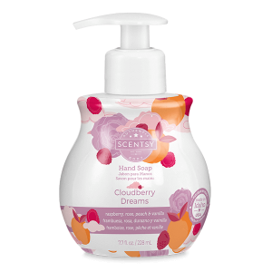 Scentsy Cloudberry Dreams Hand Soap