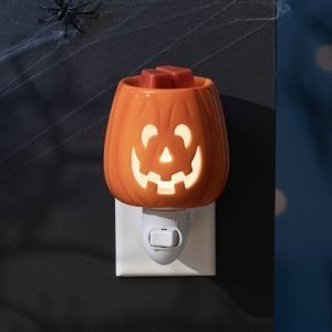 Scentsy Cut It Out Pumpkin Burner