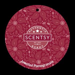 Scentsy Jeweled Pomegranate Car Air Freshener