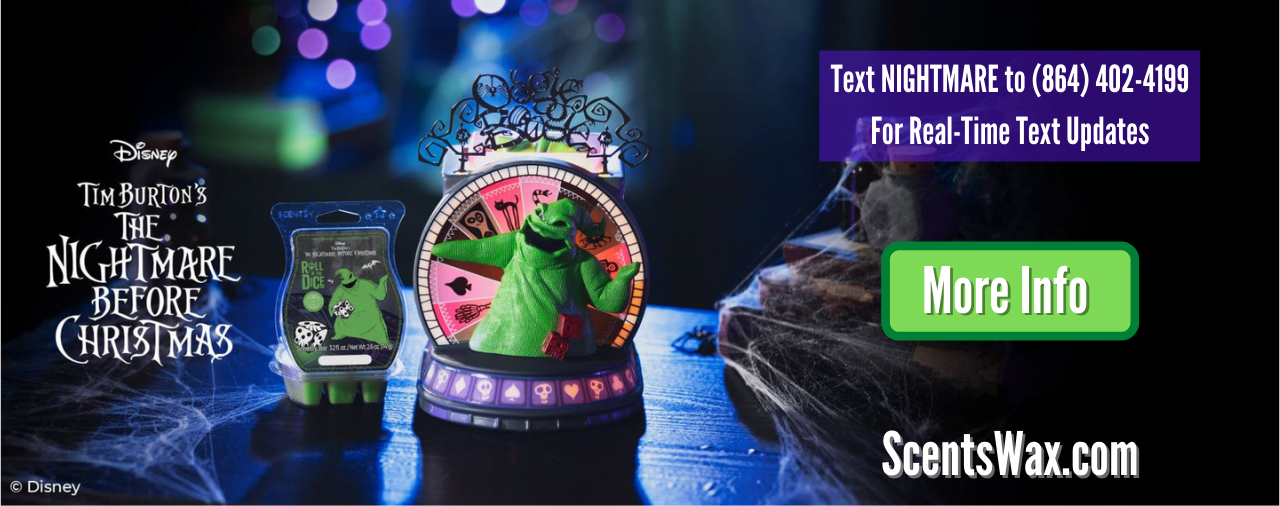 Scentsy Nightmare Before Christmas 2021