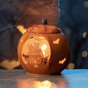Scentsy Paranormal Pumpkin Metal Warmer