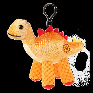 Scentsy Serra Orange Dinosaur Buddy Clip