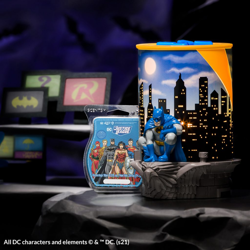 New! Scentsy Batman™ Warmer and DC Comics™ Wax Melts