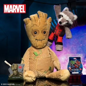 Scentsy 2021 Marvel Guardians of the Galaxy - Groot and Rocket