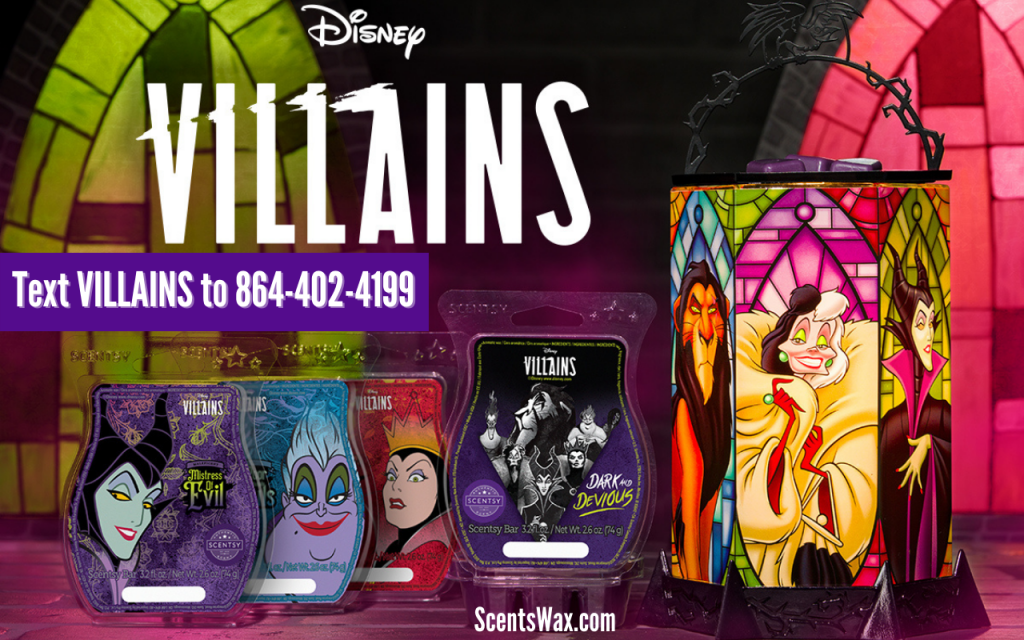 Scentsy - Disney Villains Collection - All The Rage