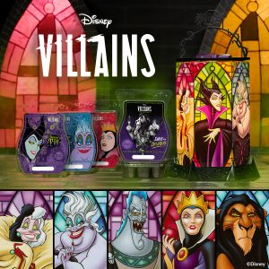 New! Scentsy Disney Villains - All The Rage