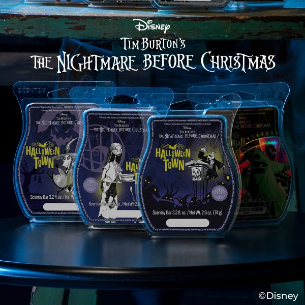 Nightmare Before Christmas Scentsy Scents