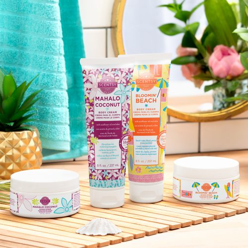 Scentsy Mothers Day Mahalo Coconut Lotion